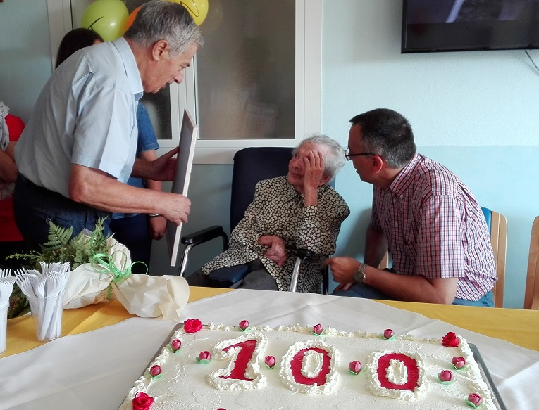 …i 100 anni dell'Ospite Ernesta Giusta