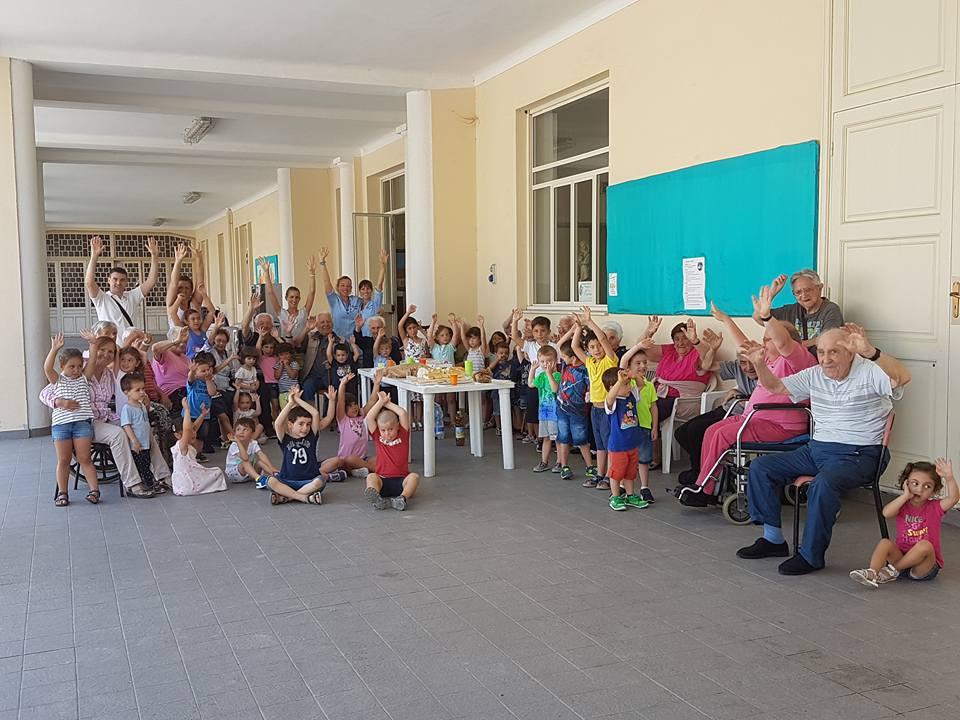 Prove generali, recita bambini scuola inferiore Maria Ausiliatrice