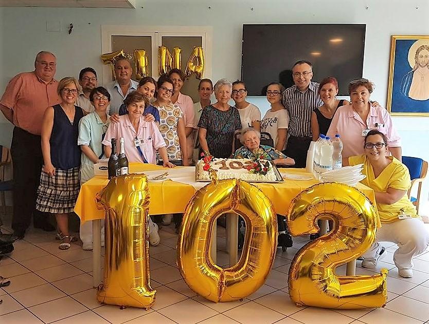 102 anni…