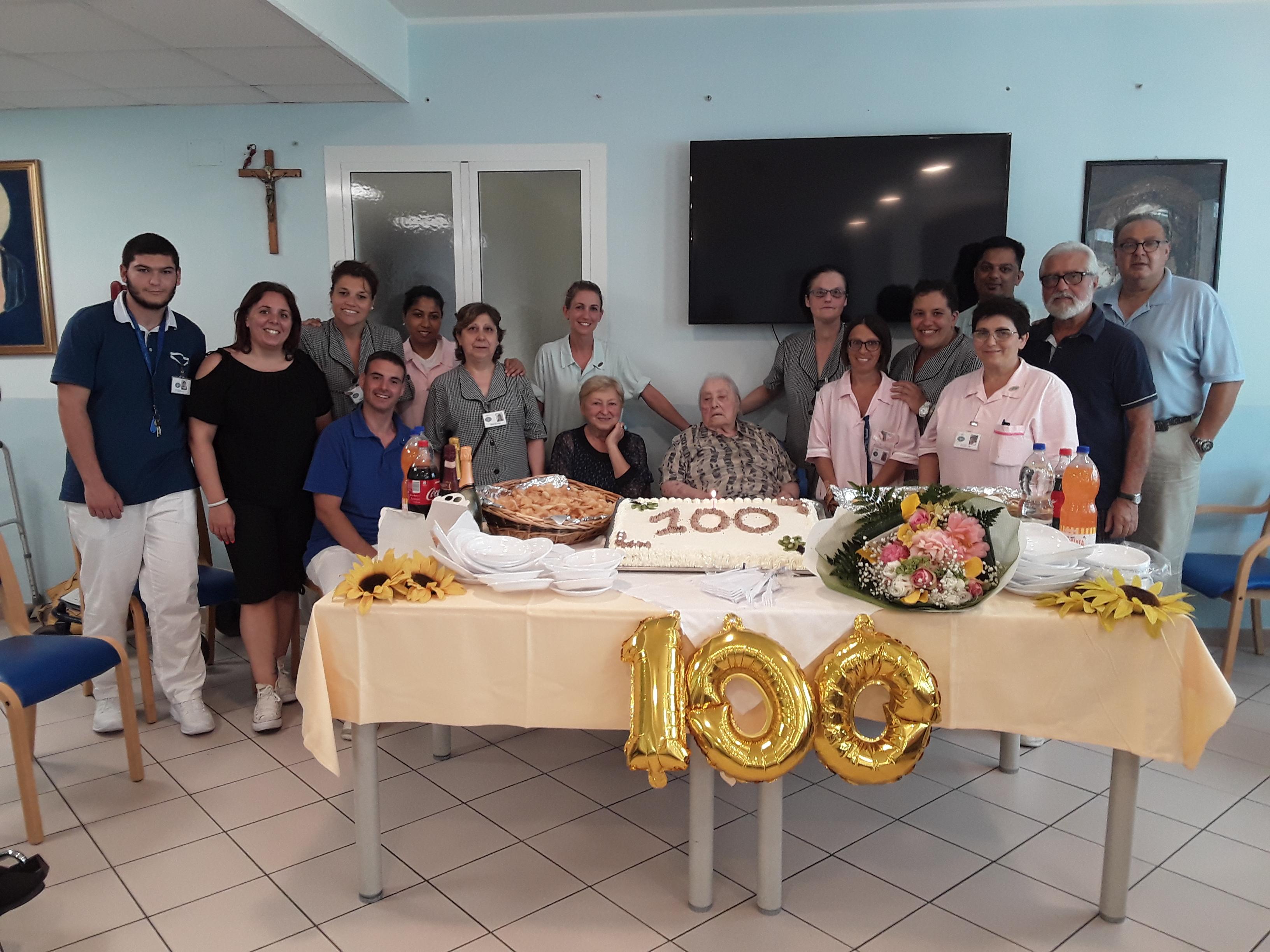 100 ANNI DELL'OSPITE DAVIGO