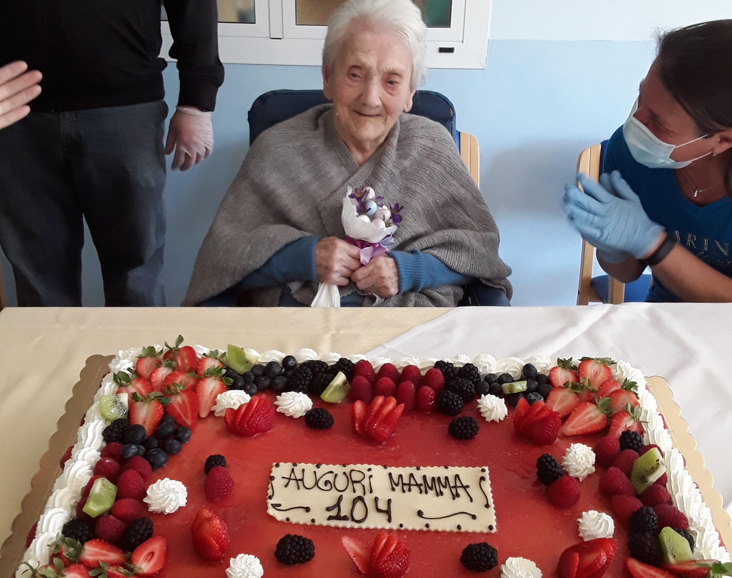 104 anni …
