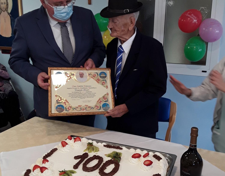 …100 anni del Signor Pasquale